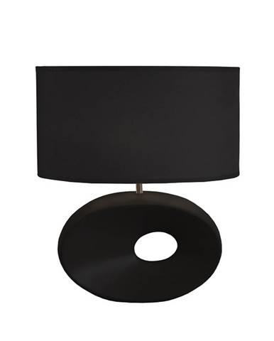 Keramická stolná lampa čierna QENNY TYP 10 AT09115 poškodený tovar