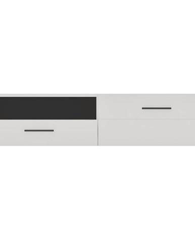 TV stolík BIANCO 3 biela