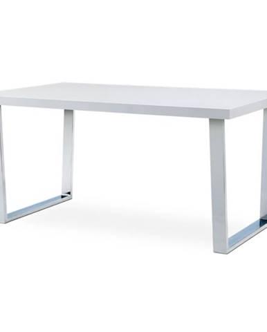 Jedálenský stôl LUIS biely, šírka 150 cm