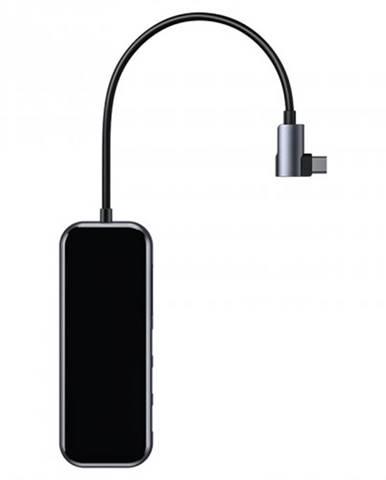 Multifunkčný hub Baseus USB-C / 3xUSB 3.0 + HD4K + SD/TF + PD