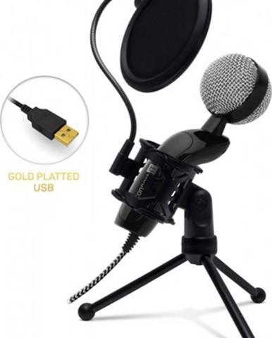 Mikrofón Connect IT YouMic CMI-8008-BK Plus, USB a POP filter