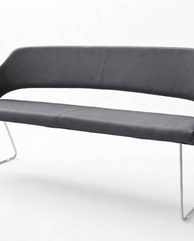 Jedálenská lavica Gertie sivá