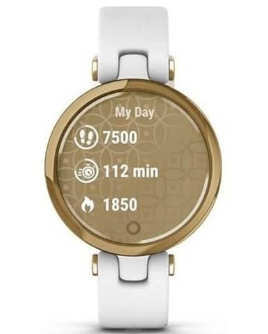 Inteligentné hodinky Garmin Lily Classic Light Gold/White Leather