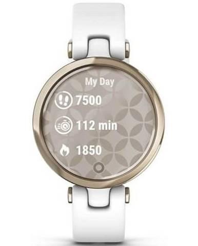 Inteligentné hodinky Garmin Lily Sport Cream Gold / White Silicone