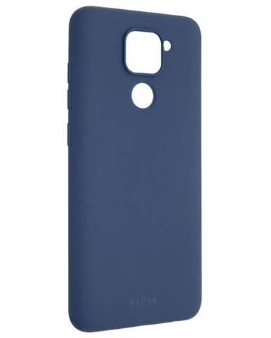 Kryt na mobil Fixed Story na Xiaomi Redmi Note 9 modrý