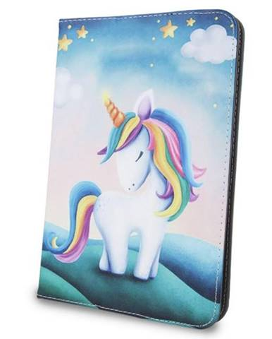 """Púzdro na tablet flipové GreenGo Unicorn na tablet 9-10"""""""