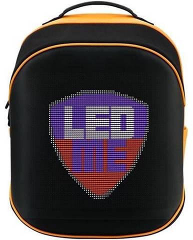 Batoh na notebook  Prestigio LEDme MAX 25L čierny/oranžový