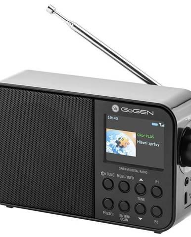 Rádioprijímač s DAB+ Gogen DAB 500 BT C čierny