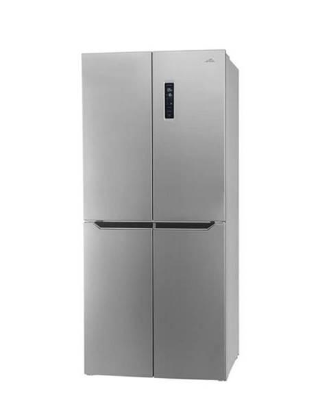 Eta Americká chladnička ETA 139090010E strieborn