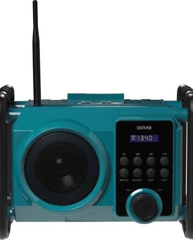 Stavebné rádio Denver WRB-50 zelen