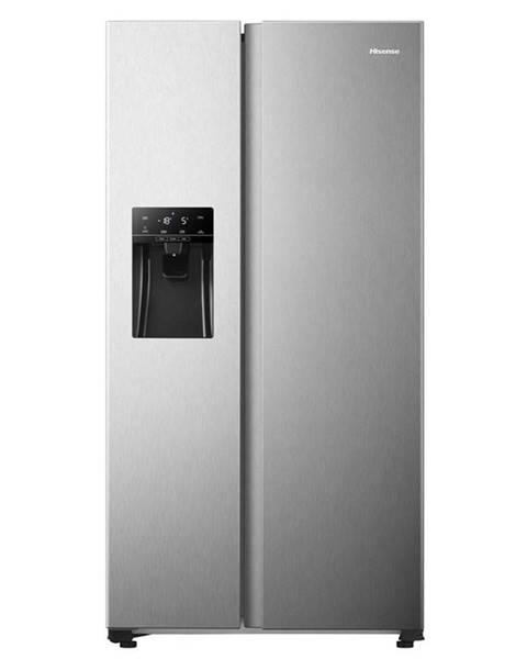 Hisense Americká chladnička Hisense Rs650n4ac2 nerez