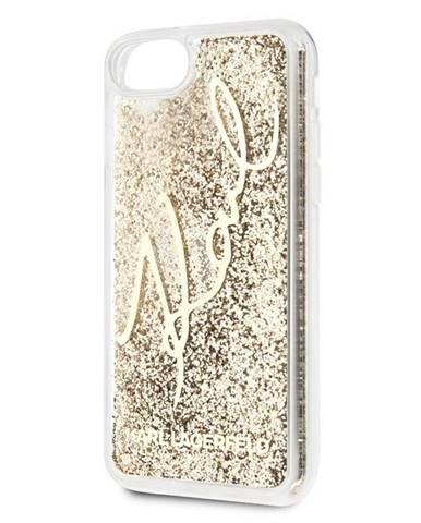 Kryt na mobil Karl Lagerfeld Signature Glitter na Apple iPhone 8/SE