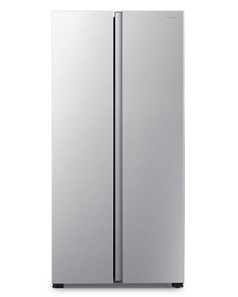 Hisense Americká chladnička Hisense Rs560n4ad1 strieborn
