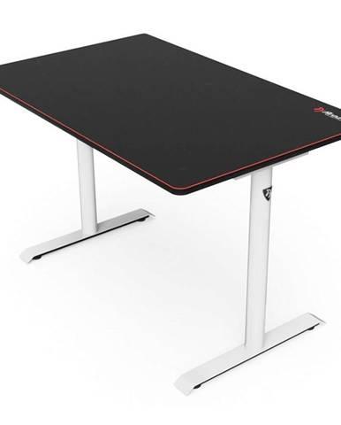 Herný stôl Arozzi Arena Leggero 114 x 72 cm čierny/biely