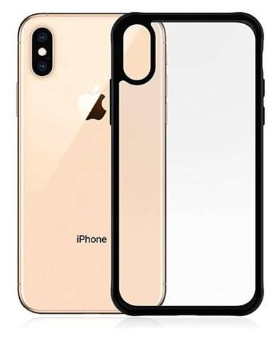 Kryt na mobil PanzerGlass na Apple iPhone X/Xs čierny/priehľadný