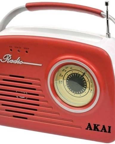 Rádioprijímač Akai APR-11 červen