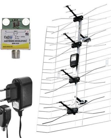 Vonkajšia anténa Emos EM-025, 0–100 km DVB-T2