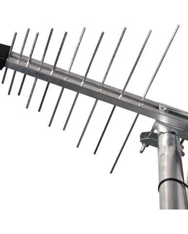 Vonkajšia anténa Emos EM-20G/Z, se zdrojem 0–100 km DVB-T2