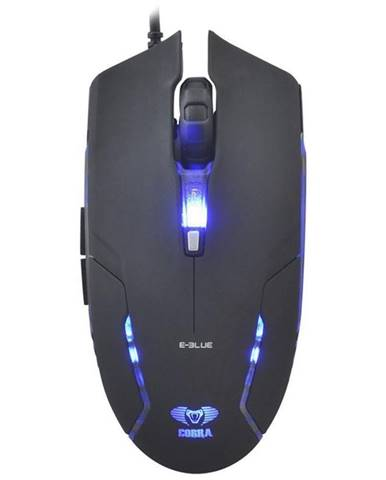 Myš  E-Blue Cobra II čierna / optická / 6 tlačítek / 1600dpi