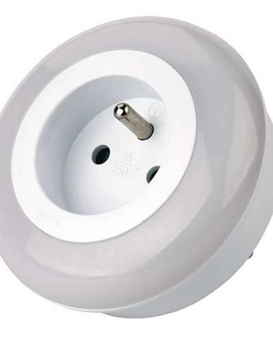 Nočné svetlo Emos do zásuvky, 3 x LED biele
