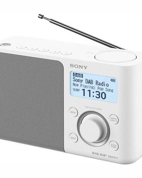 Sony Rádioprijímač s DAB+ Sony XDR-S61DW biely