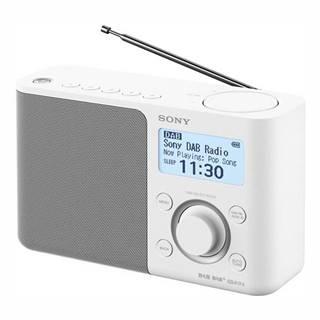 Rádioprijímač s DAB+ Sony XDR-S61DW biely