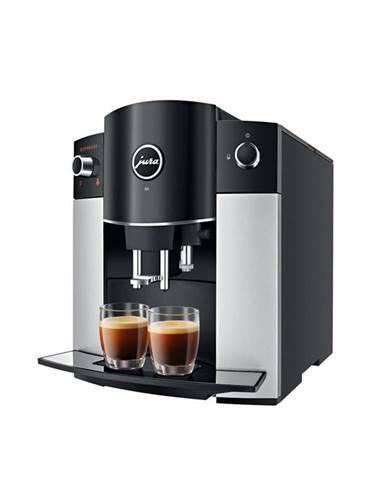 Espresso Jura D6, Platin/Black