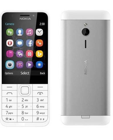 Mobilný telefón Nokia 230 Dual SIM biely