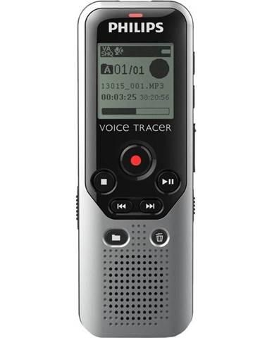 Diktafón Philips DVT1200 strieborn