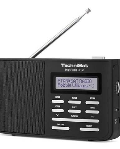 Rádioprijímač s DAB+ Technisat DAB210 čierny/strieborn