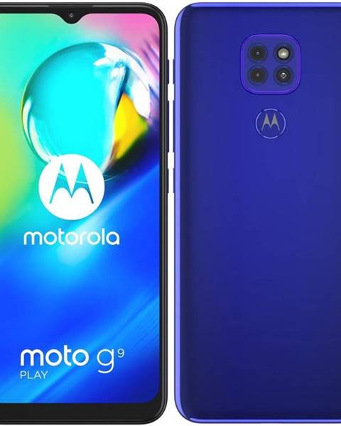 Motorola Mobilný telefón Motorola Moto G9 Play modrý