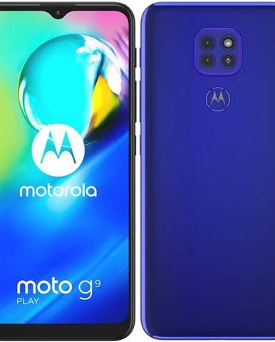 Mobilný telefón Motorola Moto G9 Play modrý