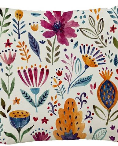 Butter Kings Vankúš Spring flowers, 50 x 50 cm