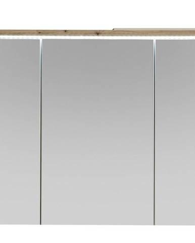 Zrkadlová skrinka POOL dub artisan, 80 cm