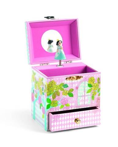Drevená hracia skrinka Djeco Princess