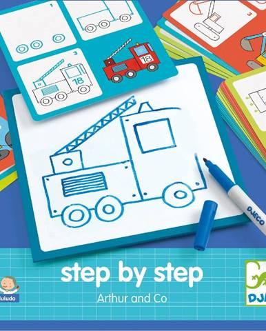 Kreatívna sada Djeco Step By Step Artur
