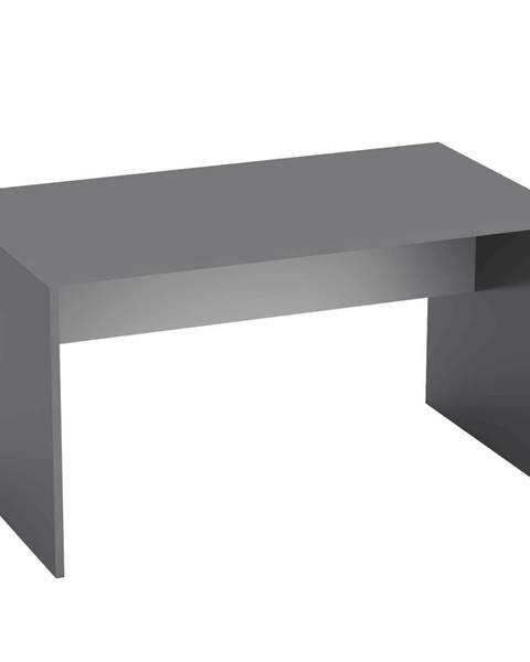 Tempo Kondela PC stôl grafit/biela RIOMA NEW TYP 11