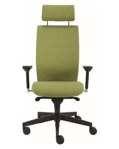 Kancelárska stolička CONNOR zelená