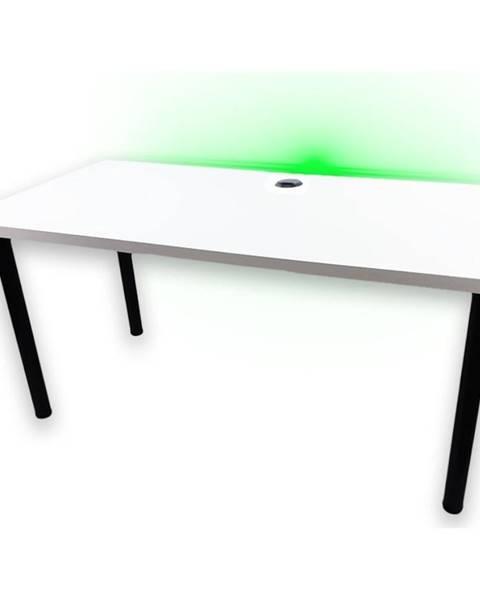 MERKURY MARKET Písací Stôl Pre Hráča 136x66x28 Model 2 Biely Low