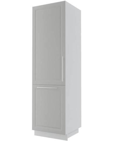 Kuchynská skrinka Emporium D14/DP/207 light grey stone/biela