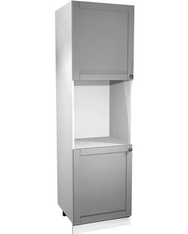 Kuchynská skrinka Linea D60P grey
