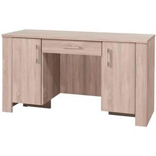 Písací stôl so zásuvkou Cezar 17  Sonoma