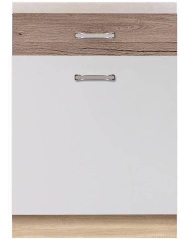 Skrinka do kuchyne Econo 5D Sonoma/Biely/San Remo