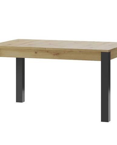 Jedálenský stôl Lucas 40 Artisan/čierna mat