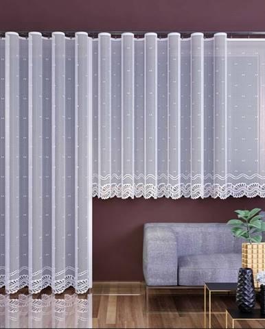 Forbyt Záclona Aurélia biela, 350 x 160 cm
