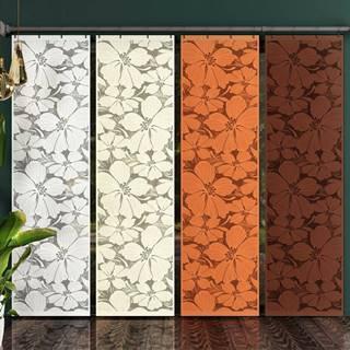 Forbyt Japonská stena Floris hnedá, 50 x 240 cm