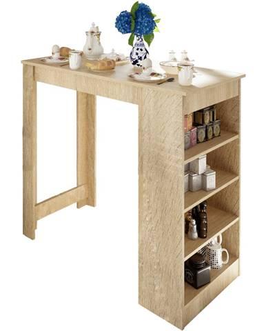 Barový stôl dub sonoma AUSTEN