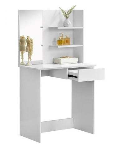 Toaletný stolík toaletka biela BELEZA