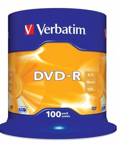 Verbatim DVD-R 4,7GB 16x, 100ks