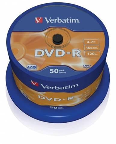 Verbatim DVD-R 4,7GB 16x, 50ks